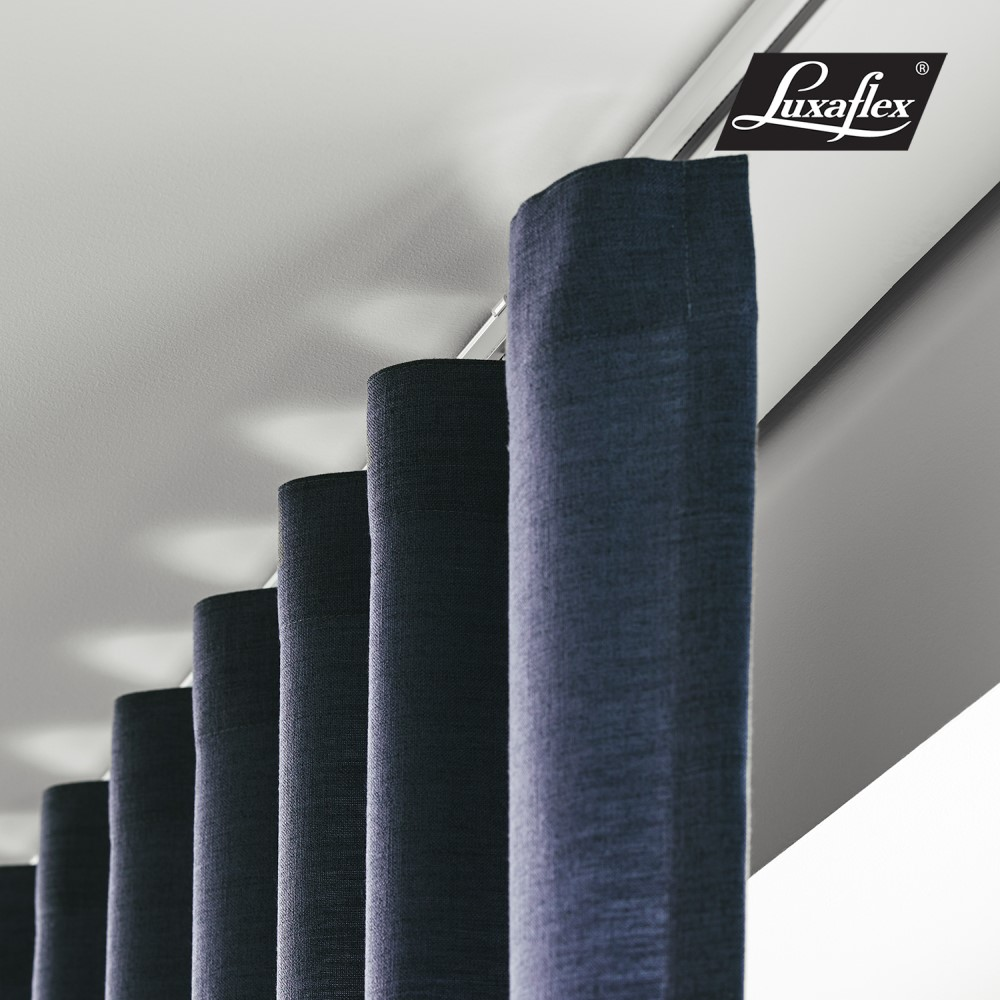 Gardinlängder, gardinskenor Luxaflex